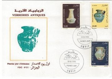 FDC Марки Алжир 2000 археология керамика ant доставка товаров из Польши и Allegro на русском