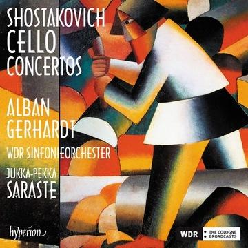 Szostakowicz Cello Concertos A. Gerhardt HYPERION доставка товаров из Польши и Allegro на русском