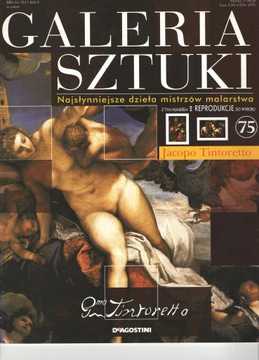 Galeria sztuki Jacopo Tintoretto t.75 +reprodukcja доставка товаров из Польши и Allegro на русском