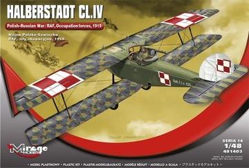 НОВИНКА MIRAGE 481403 1:48 HALBERSTADT CL.IV Польский доставка товаров из Польши и Allegro на русском