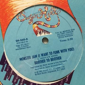 Brother To Brother Monster Jam (I Want T [EX] C223 доставка товаров из Польши и Allegro на русском