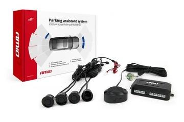 Комплект датчиков парковки заднего хода Buzzer черный доставка товаров из Польши и Allegro на русском