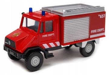 Mercedes-Benz Unimog пожарная охрана 1:39 модель ЖЕ доставка товаров из Польши и Allegro на русском