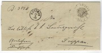 Austria List 1889 Bukowina - Opawa доставка товаров из Польши и Allegro на русском