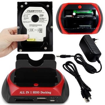 ДОК-СТАНЦИЯ SATA IDE ATA SSD, HDD, USB доставка товаров из Польши и Allegro на русском