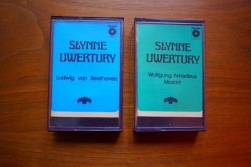 Mozart, Beethoven - Słynne Uwertury Muza kasety доставка товаров из Польши и Allegro на русском