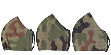 Маска Защитная маска, хлопчатобумажная камуфляжная ткань US-21 M21  доставка товаров из Польши и Allegro на русском