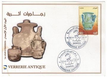 FDC Марки Алжир 2013 археология, керамика доставка товаров из Польши и Allegro на русском