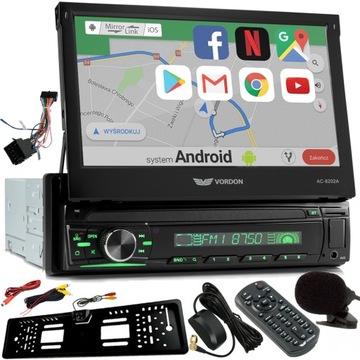 Автомагнитола 1DIN VORDON AC-8202A ANDROID GPS доставка товаров из Польши и Allegro на русском