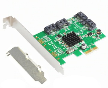 IOCREST SI-PEX40064 SATA 6 гбит / с, PCI Express Card доставка товаров из Польши и Allegro на русском