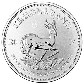 1 Рэнд 1 oz KRUGERRAND Ag 0,999 2017 год доставка товаров из Польши и Allegro на русском