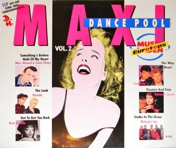 Maxi Dance Pool Vol. 2 SKŁ 2x12'' Roxette Oh Well доставка товаров из Польши и Allegro на русском