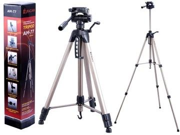 Statyw Foto do Aparatu Racam-77 190cm Futerał 3D доставка товаров из Польши и Allegro на русском