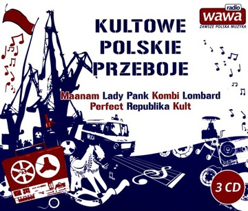 КУЛЬТОВЫЕ ПОЛЬСКИЕ ХИТЫ РАДИО ВАВА (3CD) доставка товаров из Польши и Allegro на русском