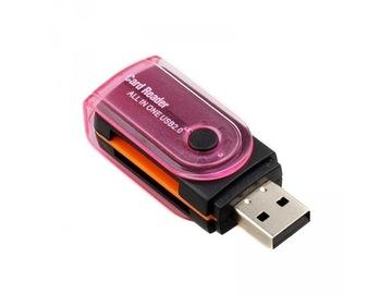 Устройство чтения карт 15w1 all in one USB SD MICRO SD доставка товаров из Польши и Allegro на русском