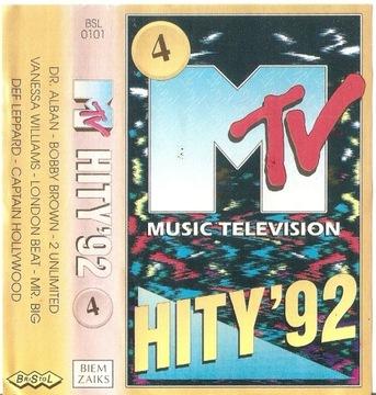 MTV Hity'92, том 4  доставка товаров из Польши и Allegro на русском