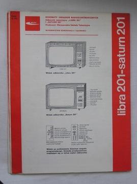 ODBIORNIK TELEWIZYJNY LIBRA 201 SATURN 201 INSTRUK доставка товаров из Польши и Allegro на русском