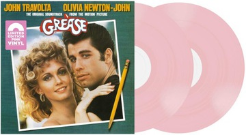 Grease (1978) O.S.T. Limited Pink Vinyl 2lp доставка товаров из Польши и Allegro на русском