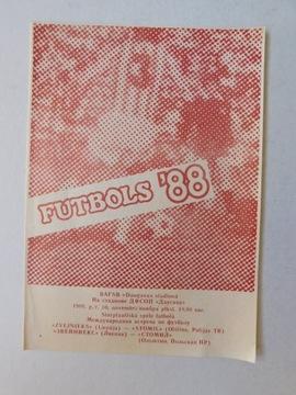 PROGRAM ZVEJNIEKS LIPAWA STOMIL OLSZTYN 1988.11.10 доставка товаров из Польши и Allegro на русском