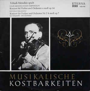 M - Menuhin Bartholdy - Konzert Für Violine Und... доставка товаров из Польши и Allegro на русском