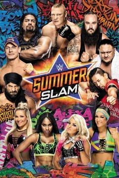 (WWE Summerslam 2017 - плакат 61x91,5 см) доставка товаров из Польши и Allegro на русском