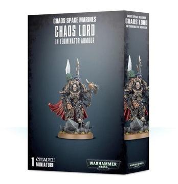 Chaos Lord in Terminator Armor Chaos Space Marines доставка товаров из Польши и Allegro на русском
