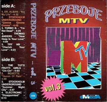Przeboje MTV Vol. 3 /MC доставка товаров из Польши и Allegro на русском