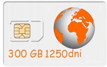 300 ГБ Интернет на карту ORANGE Free 1250 дней LTE доставка товаров из Польши и Allegro на русском