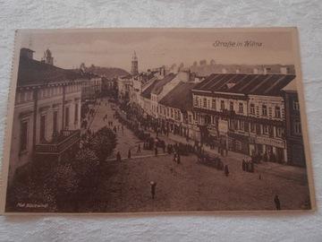 Pocztówka - WILNO 1917 доставка товаров из Польши и Allegro на русском