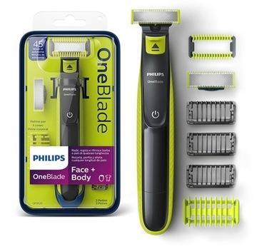 Philips OneBlade golarka Face + Body QP2620/20 доставка товаров из Польши и Allegro на русском