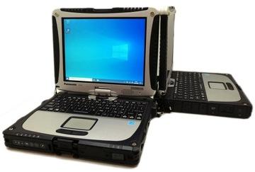 СЕНСОРНЫЙ Panasonic CF-19 MK7 i5 8GB 240SSD 4G BAT доставка товаров из Польши и Allegro на русском