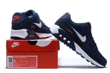 Кроссовки Nike Air Max 90 AJ1285-403 темно-Синий доставка товаров из Польши и Allegro на русском
