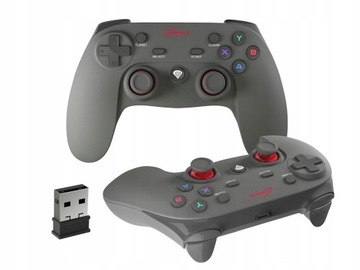 Геймпад PAD геймпад для PC Genesis PV65 вибрации доставка товаров из Польши и Allegro на русском