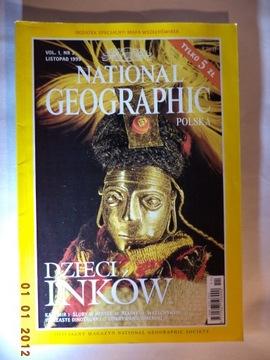 NATIONAL GEOGRAPHIC - Детей Инков - 11/1999 (2) доставка товаров из Польши и Allegro на русском