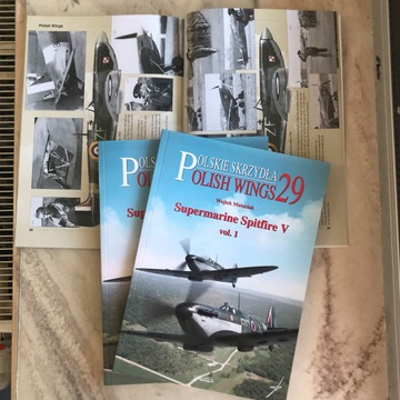 Polish Wings No. 29 Supermarine Spitfire V vol. 1 доставка товаров из Польши и Allegro на русском
