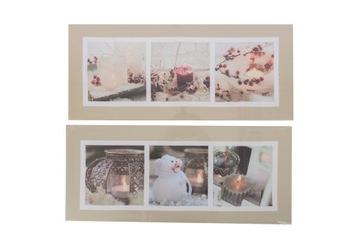 Świąteczny obraz świecący 3-4 led доставка товаров из Польши и Allegro на русском