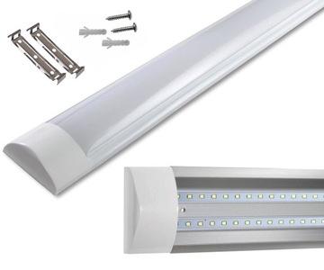 Светодиодная лампа для гаража 120 см 36 Вт SuperLED доставка товаров из Польши и Allegro на русском