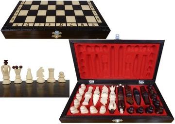 ПОЛЬСКИЕ шахматы ДЕРЕВЯННЫЕ турнирные ШКОЛЬНЫЕ 31x31 доставка товаров из Польши и Allegro на русском