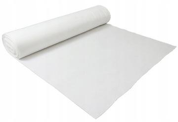 Войлок белый САМОКЛЕЯЩАЯСЯ 3 мм 600 г/м2 - 0.5 м2 доставка товаров из Польши и Allegro на русском