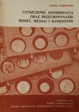 J. Kurpiewski - Czyszczenie, konserwacja monet доставка товаров из Польши и Allegro на русском