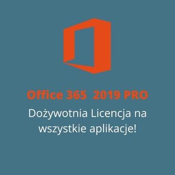 Пакет Office 365 - 2019 PRO - Пожизненная Лицензия доставка товаров из Польши и Allegro на русском