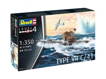 U-Boot Typ VII C/41, Revell 05154 доставка товаров из Польши и Allegro на русском