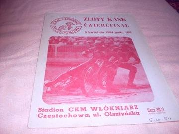1984 Częstochowa Ćwierćłfinał Złotego Kasku - wype доставка товаров из Польши и Allegro на русском