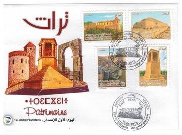 FDC Марки Алжир 2018 археология памятники доставка товаров из Польши и Allegro на русском