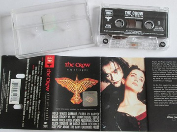 The Crow-City Of Angels Soundtrack kaseta Korn доставка товаров из Польши и Allegro на русском