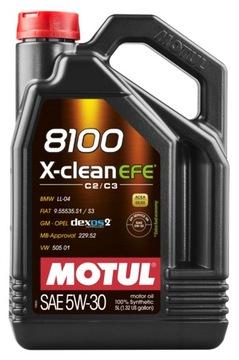 Motul 8100 X-Clean EFE C2/C3 5W30 5Л 505.01 доставка товаров из Польши и Allegro на русском