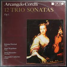 12 trio sonatas op. 1 - Corelli - 2 x vinyl доставка товаров из Польши и Allegro на русском