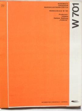 WZMACNIACZ LAMPOWY W 701 INSTRUKCJA SERWISOWA доставка товаров из Польши и Allegro на русском