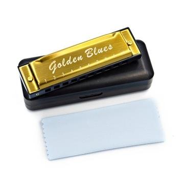 Губная гармошка для начинающих Golden Blues C доставка товаров из Польши и Allegro на русском