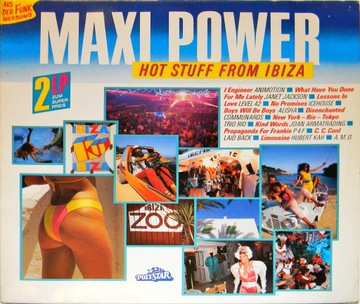 Maxi Power Hot Stuff From Ibiza 1986 SKŁ 2x12'' доставка товаров из Польши и Allegro на русском